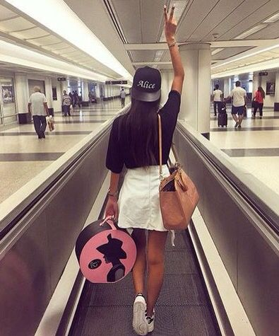 airport selfie2